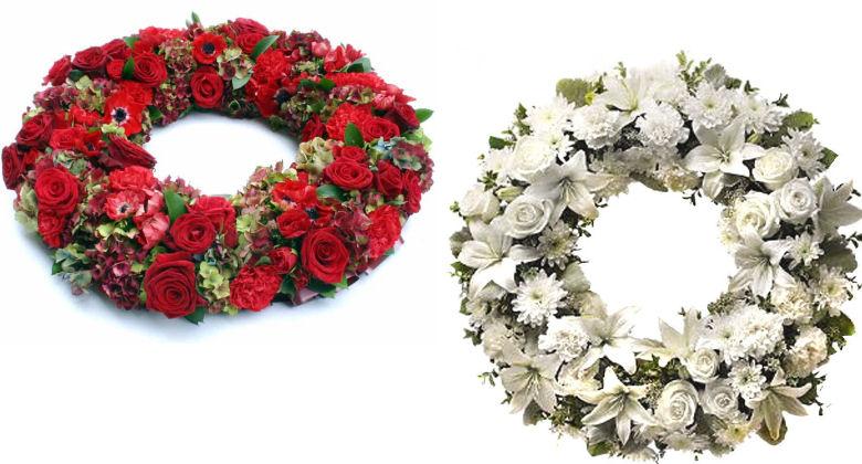 Fiori per funerale e corone funebri a Crotta d'Adda